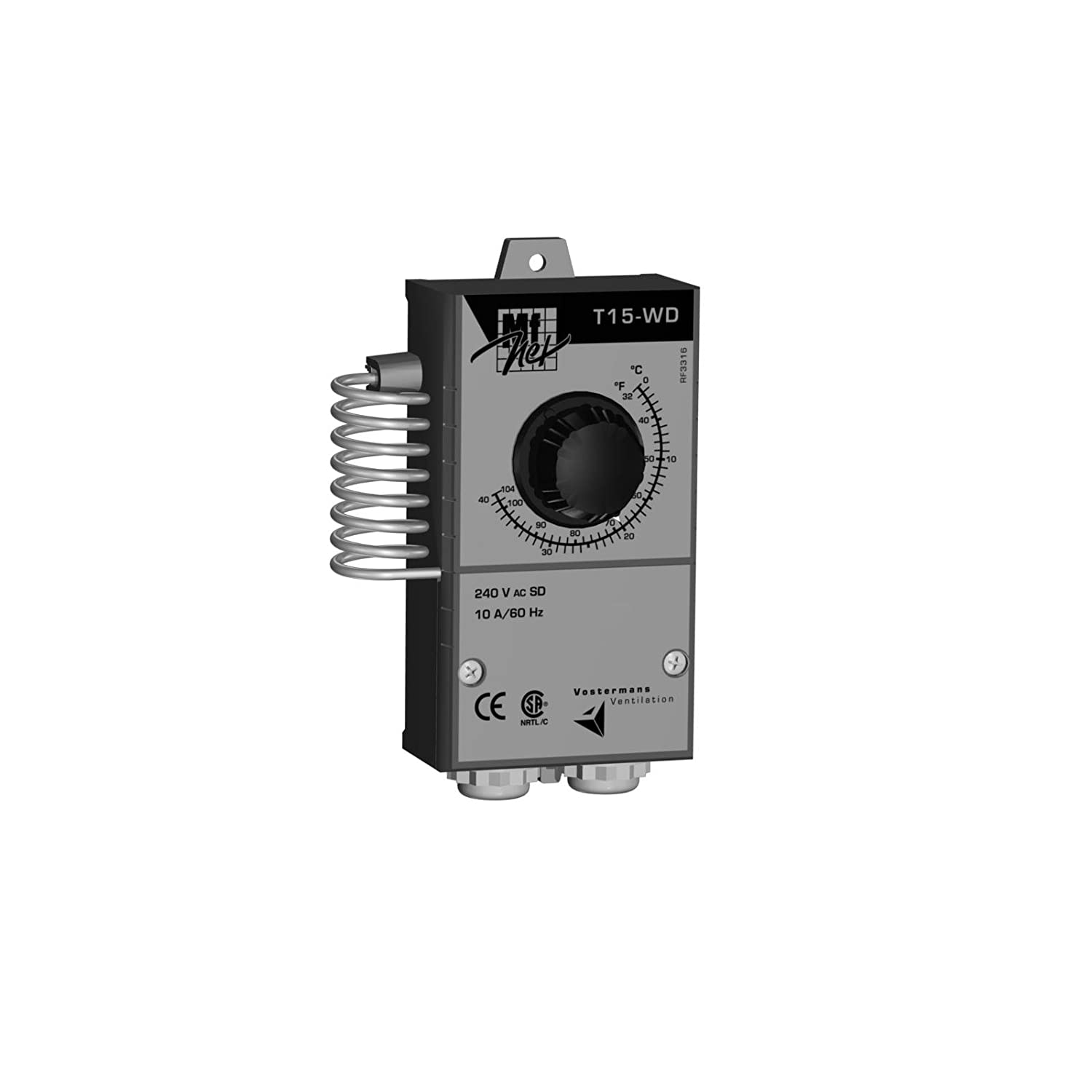 Multifan TT15WDCAM1A Single Stage Thermostat