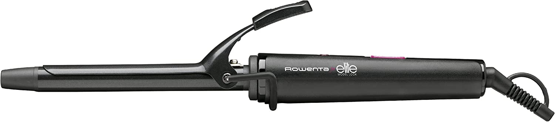 Rowenta Elite CF2112F0 - Moldeador rizador de cabello de 16 mm de diámetro de temperatura máxima 180ºC con recubrimiento cerámico iónico y punta fría de seguridad