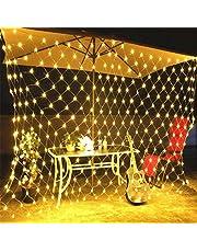 مصابيح جنية، 3x2 م 200 مصباح شبكة LED، سلسلة المصابيح القابلة للتوصيل، سلك نحاسي مرن إضاءة اليراع للفتيات / الأولاد ، جدار ، حفل عيد ميلاد الزفاف ، عيد الميلاد ، تزيين الخيمة