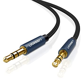 UGREEN Aux Kabel 3.5mm Klinkenkabel Audiokabel Stereo Kabel mit ...