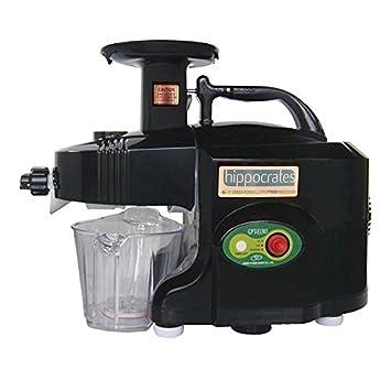 Greenpower Hippocrates GPT-1305 Plus - Extractor de zumos Slow Juicer de 2 ejes (
