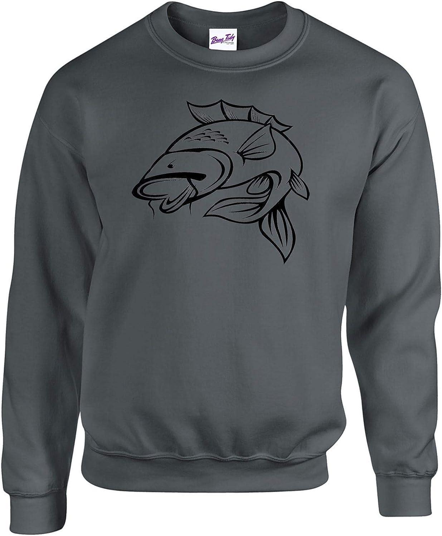 Fishermen Anglers Clothing Gifts for Men Carp Fishing Sweatshirts Jumpers