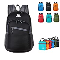 Packable Daypack,18L Lightweight foldable Backpack bag for men and women outdoor Sport Camping Hiking Cycling Travel and school Daily Usage
