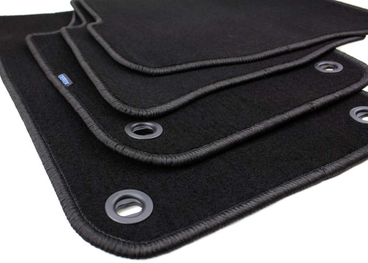 VW Polo 9N Velours Fußmatten Satz Automatten Stoffmatten 4 Teilig NEU