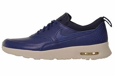 buy online e29fa 5c727 Nike WMNS Air Max Thea Pinnacle, Chaussures de Sport Femme, Bleu (Insignia  Blue