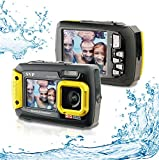 20MP Waterproof AQUA 8800 Shockproof UnderWater Digital Camera Video recorder (Yellow) By SVP
