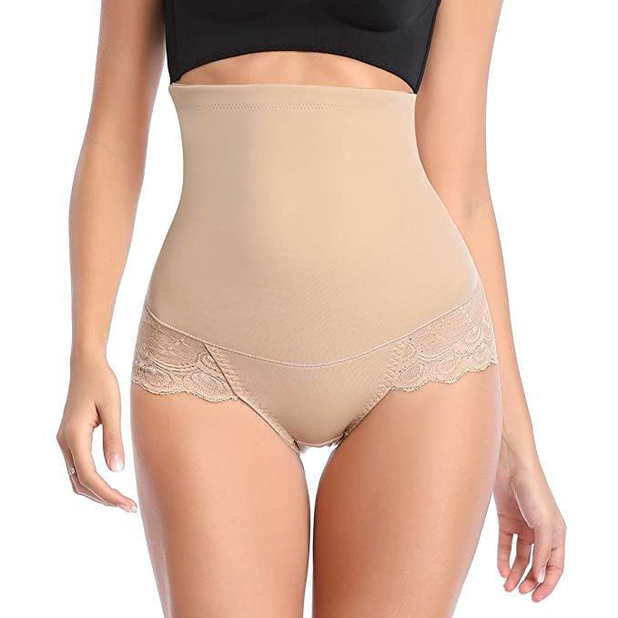 e6f14b144a3 Butt Lifter High Waist Shapewear Panties for Women Tummy Control Slimming Body  Shaper