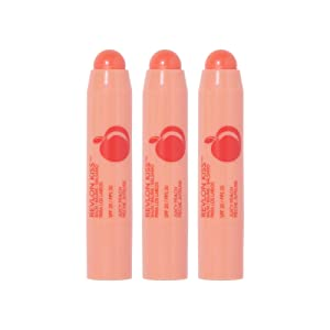 Revlon Kiss Balm, Juicy Peach (3-Pack)