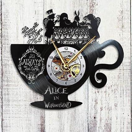 Amazon Com Taniastore Alice In Wonderland Design Vinyl Record Wall