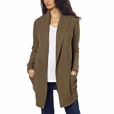 55238d72073 Image Unavailable. Image not available for. Color  La Classe Couture Women s  Knit Hooded Cardigan