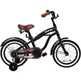 "JOYSTAR 12"" 14"" 16"" Kids Cruiser Bike with Training Wheels for Ages 2-6 Years Old Girls & Boys, Toddler Kids Bicycle"