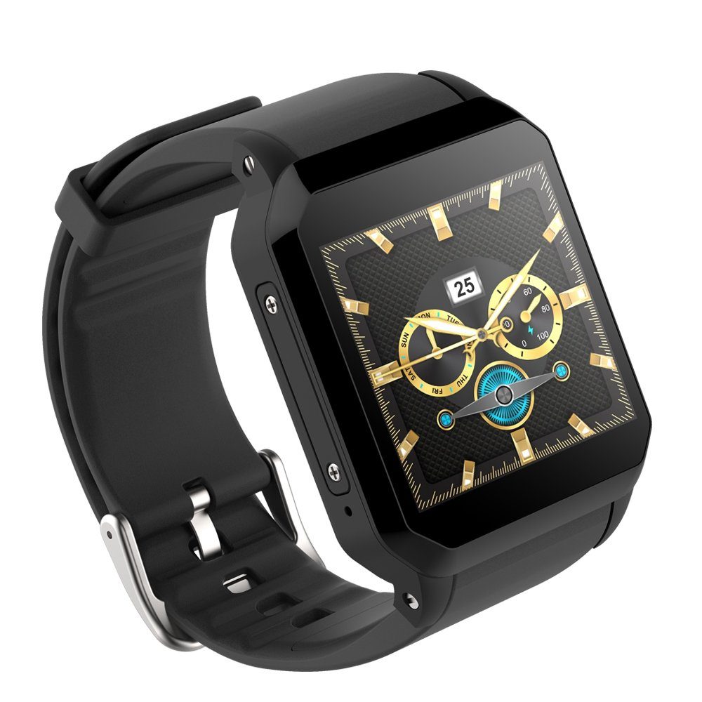 Amazon.com: TOOGOO KW06 Smart Watch Men Android 5.1 Wrist ...