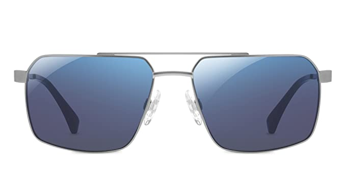 bf93fa909c21 Amazon.com  EnChroma Kittredge Sunglasses (Silver)  Clothing