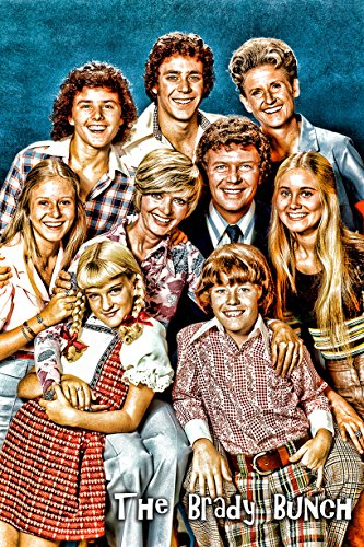 The Brady Bunch Wall Posters Two - The Brady Bunch Cast