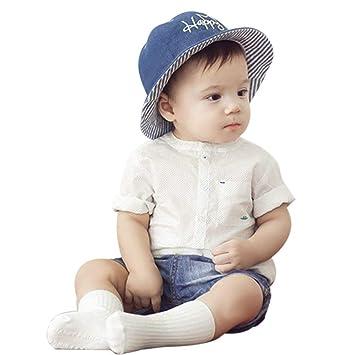 3d95f317d6203 キャップ 帽子 幼児 子供 ベビー 保育園 日差し デニム帽子 男女兼用 人気 お洒落 日よけ