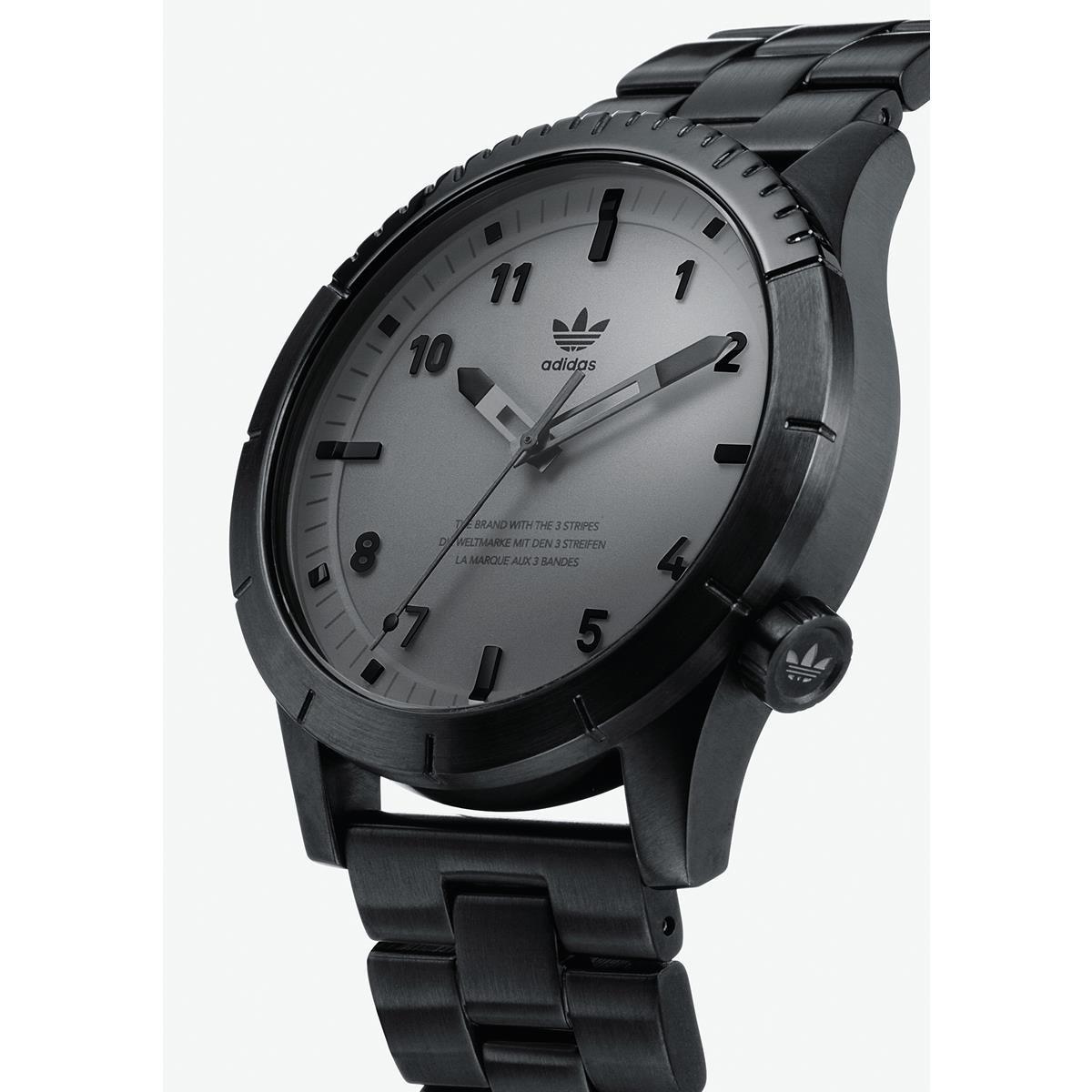 Adidas by Nixon Reloj Analogico para Hombre de Cuarzo con Correa en Acero Inoxidable Z03-017-00: Amazon.es: Relojes