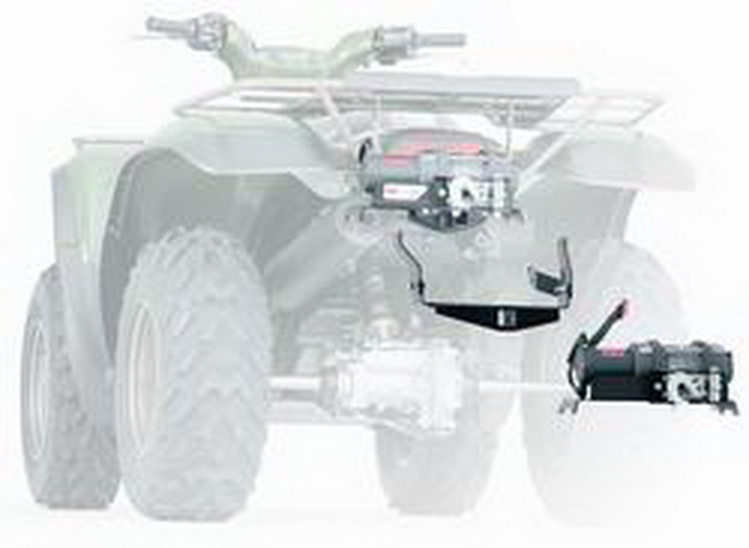 WARN 66288 ATV Winch Mounting System