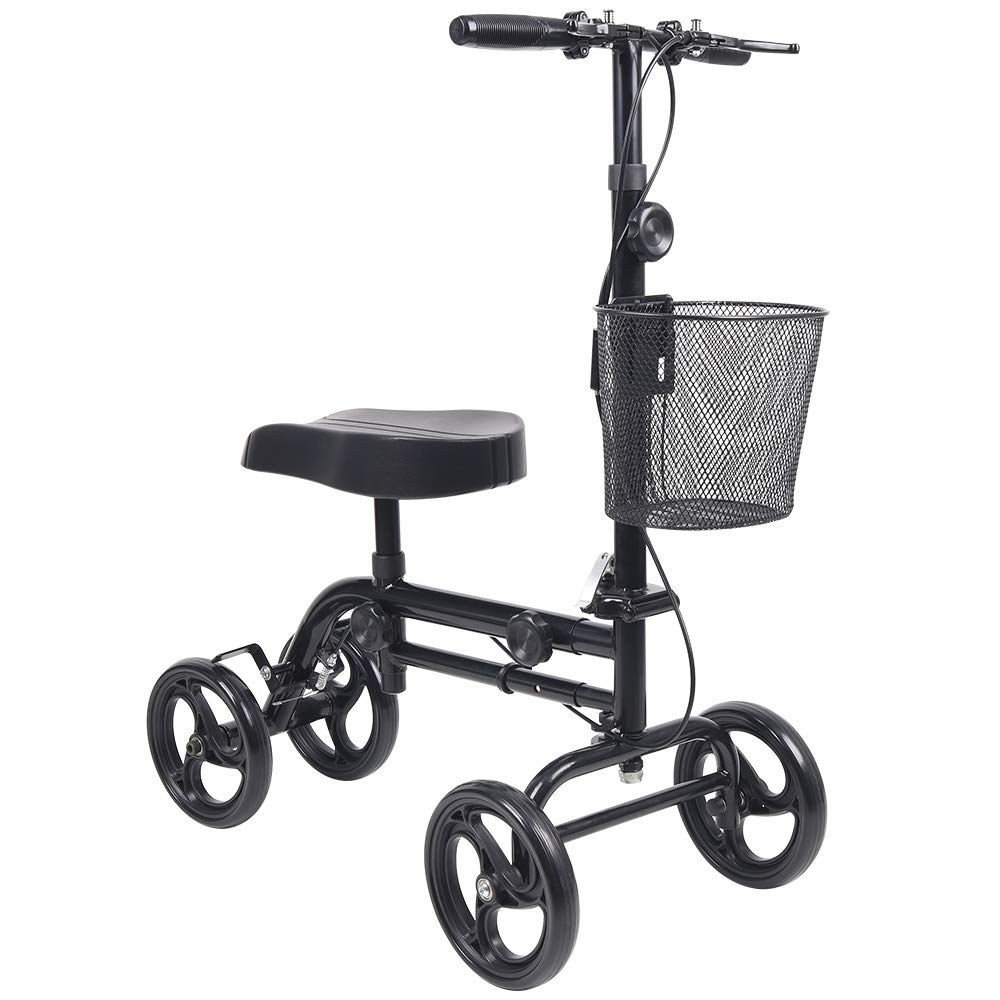 Knee Scooter Give Me All Terrain Foldable Steerable Deluxe Medical Knee Walker