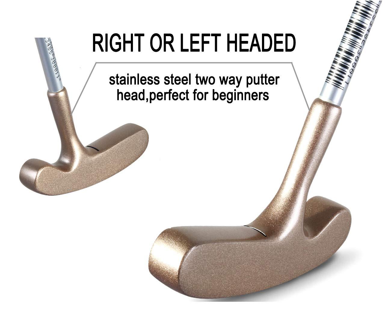 Amazon.com: Acstar - Putter de golf para niños de dos vías ...