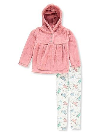 7cf9bec46 Amazon.com  Carter s Girls  2T-4T 2 Piece Faux Sherpa Hoodie and ...