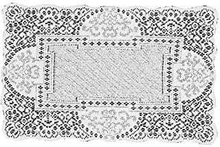 product image for Heritage Lace Canterbury Classic 14-Inch by 19-Inch Placemat, Ecru, Set of 2