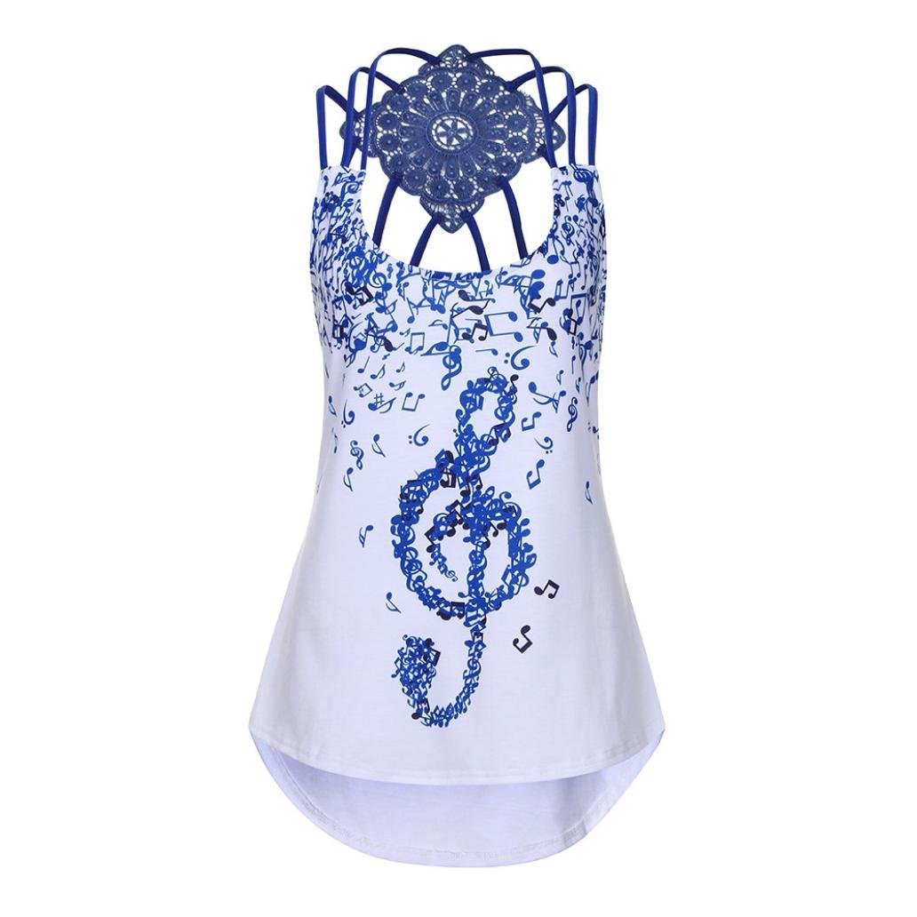 Amazon Paymenow Tank Tops For Women Clearance Boho Musical
