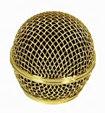 Performance Plus MB58-G Mesh Grill Replacement for Shure SM58 - Gold Color Ball