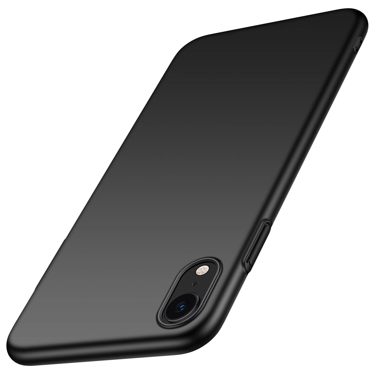 Arkour for iPhone XR Case, Minimalist Ultra Thin Slim Fit Cover with Smooth Matte Surface Hard Cases for iPhone XR 6.1 inch (Smooth Blue)