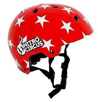Red//Stars Nitro Circus /'You Got This!/' Helmet