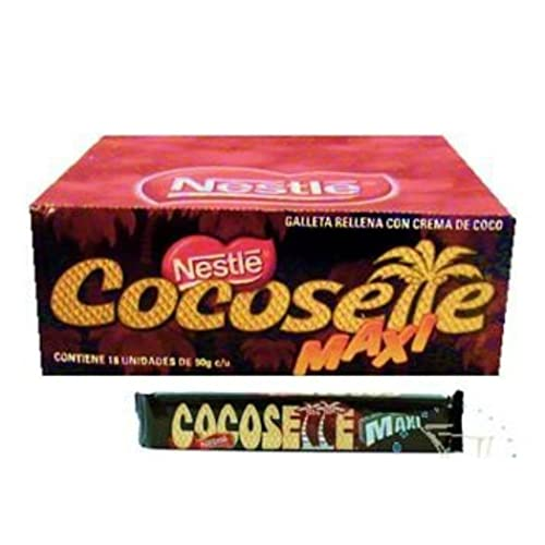 Nestle Cocosette Maxi Galleta Rellena De Coco 900 grs.(18 pieces of 50 grs
