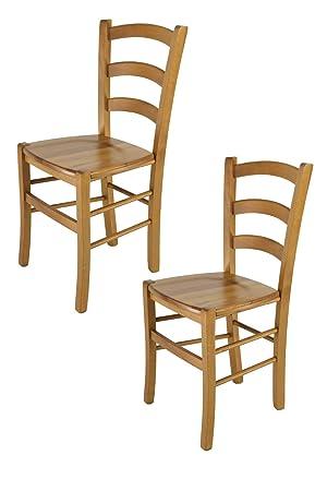 Tommychairs - Juego de 2 sillas Modelo Venice para Cocina y Comedor ...