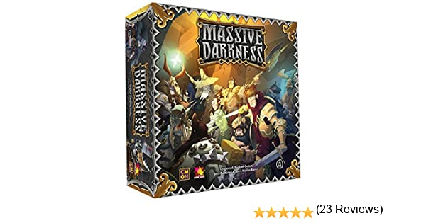 Asmodee Italia 10100 – Massive Darkness Edición Italiana: Amazon.es: Juguetes y juegos