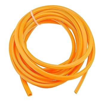 Amazon.com: Tira decorativa naranja de 16.4 ft para ...
