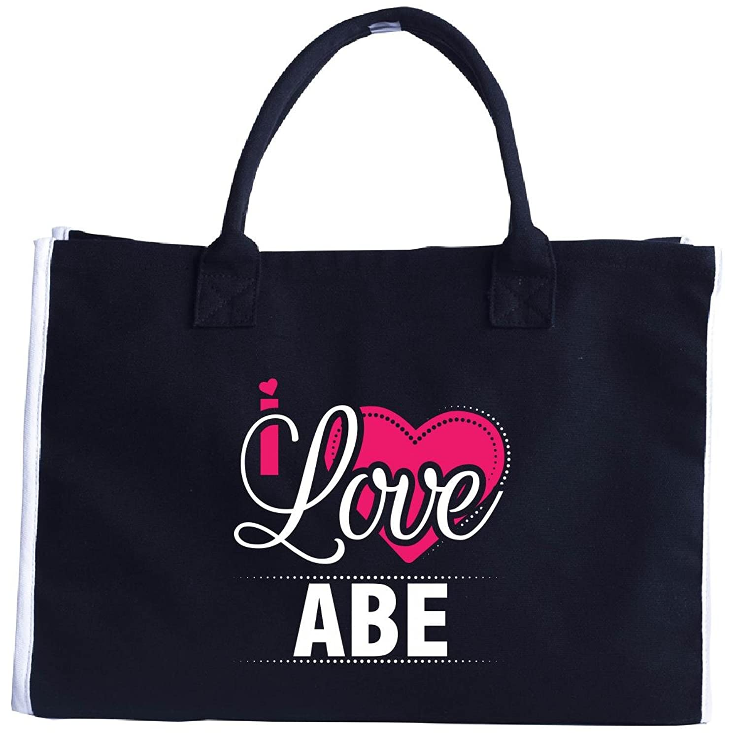 I Love Abe - Cool Gift For Abe From Girlfriend - Tote Bag