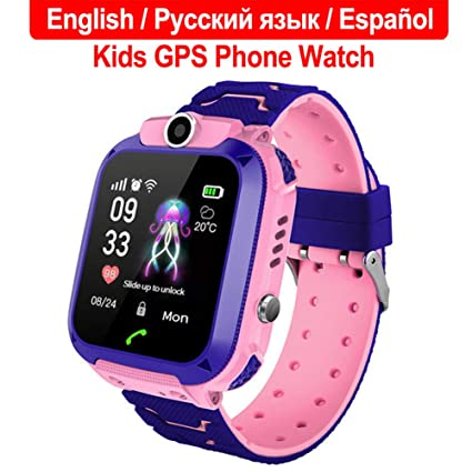 Amazon.com: Yooha Kids Smart Watch, GPS Tracker Touch Color ...