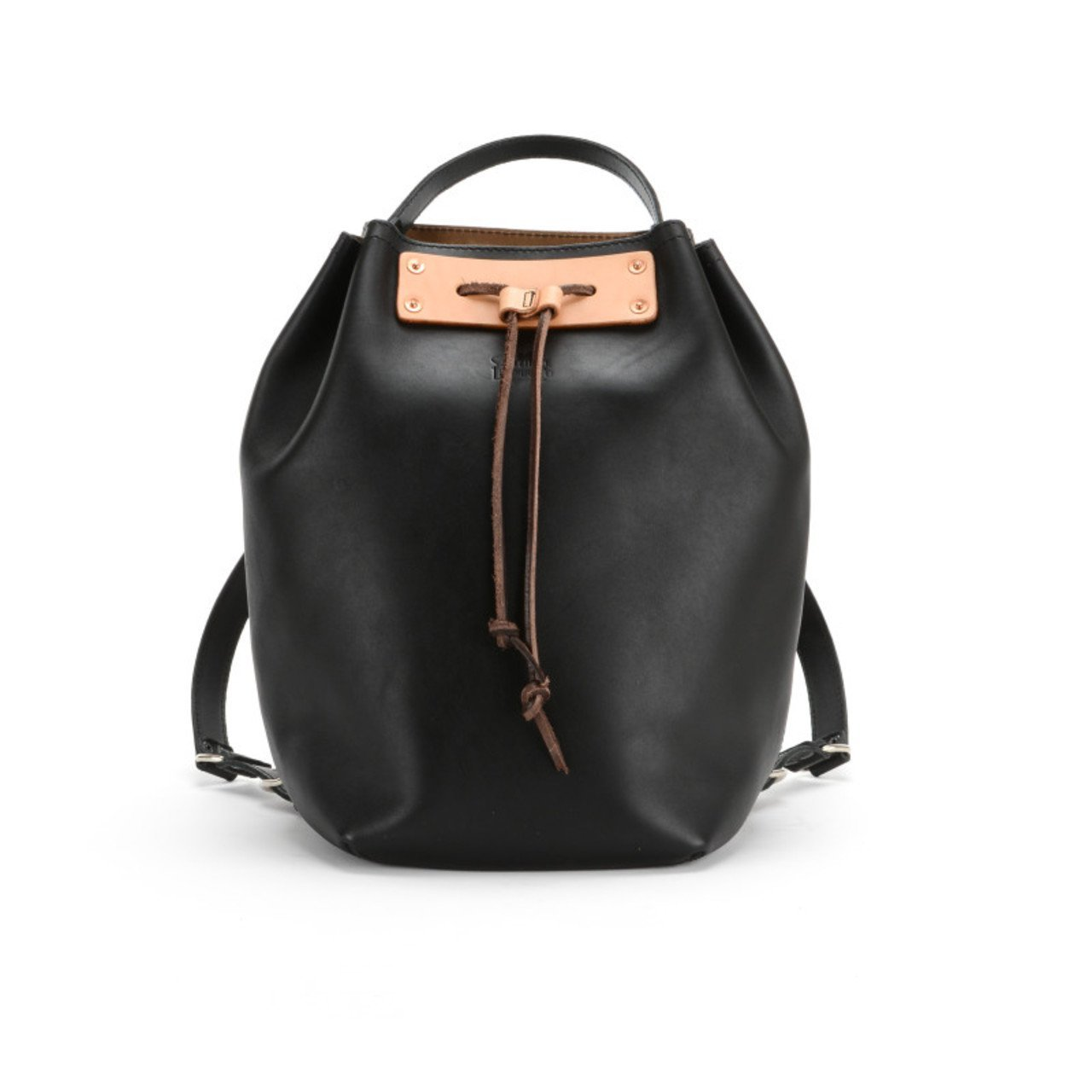 Saddleback Leather Bucket Backpack - Beautiful 100% Full Grain Leather Bag for School, Business or Travel with 100 Year Warranty