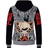 Boku No He ro Academia 3D Hoodie Sweatshirt He ro Academia Cosplay Costume Hooded Pullover