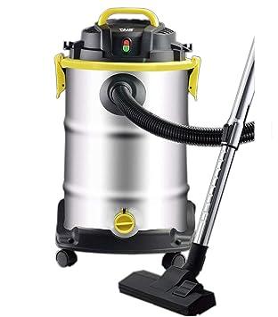 DMS® aspiradora 1800 W Húmedo seca 30 L Aspiradora industrial Aspiradora Acero Inoxidable NTS de 30