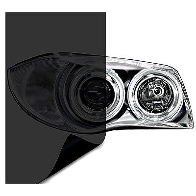 VViViD Air-Tint Dark Black Headlight/Tail Light Window Tint (12 Inch x 24 Inch 2-roll Pack): Automotive