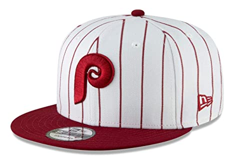 online retailer 3e0bb d69c7 Image Unavailable. Image not available for. Color  New Era Philadelphia  Phillies 9FIFTY MLB Cooperstown Logo Pack Snapback Hat