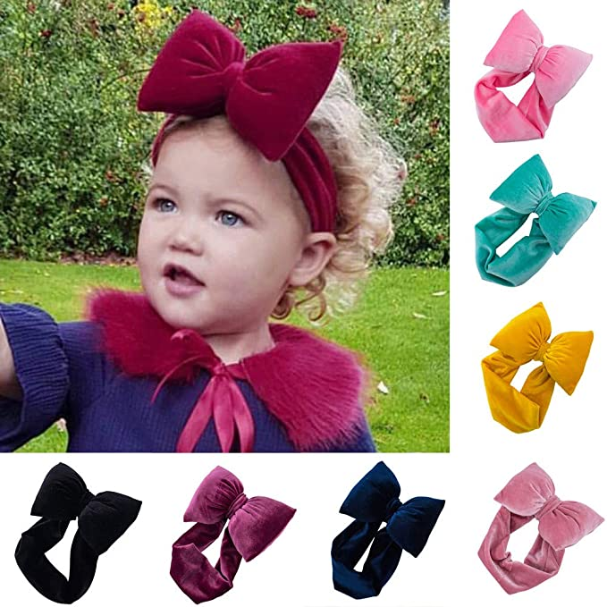 Amazon Com Outtop Tm Baby Headbands Toddler Kids Girls Cute