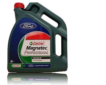 Castrol Aceite para Motor Magnatec Professional A5 5W-30, 5 l: Amazon.es: Coche y moto