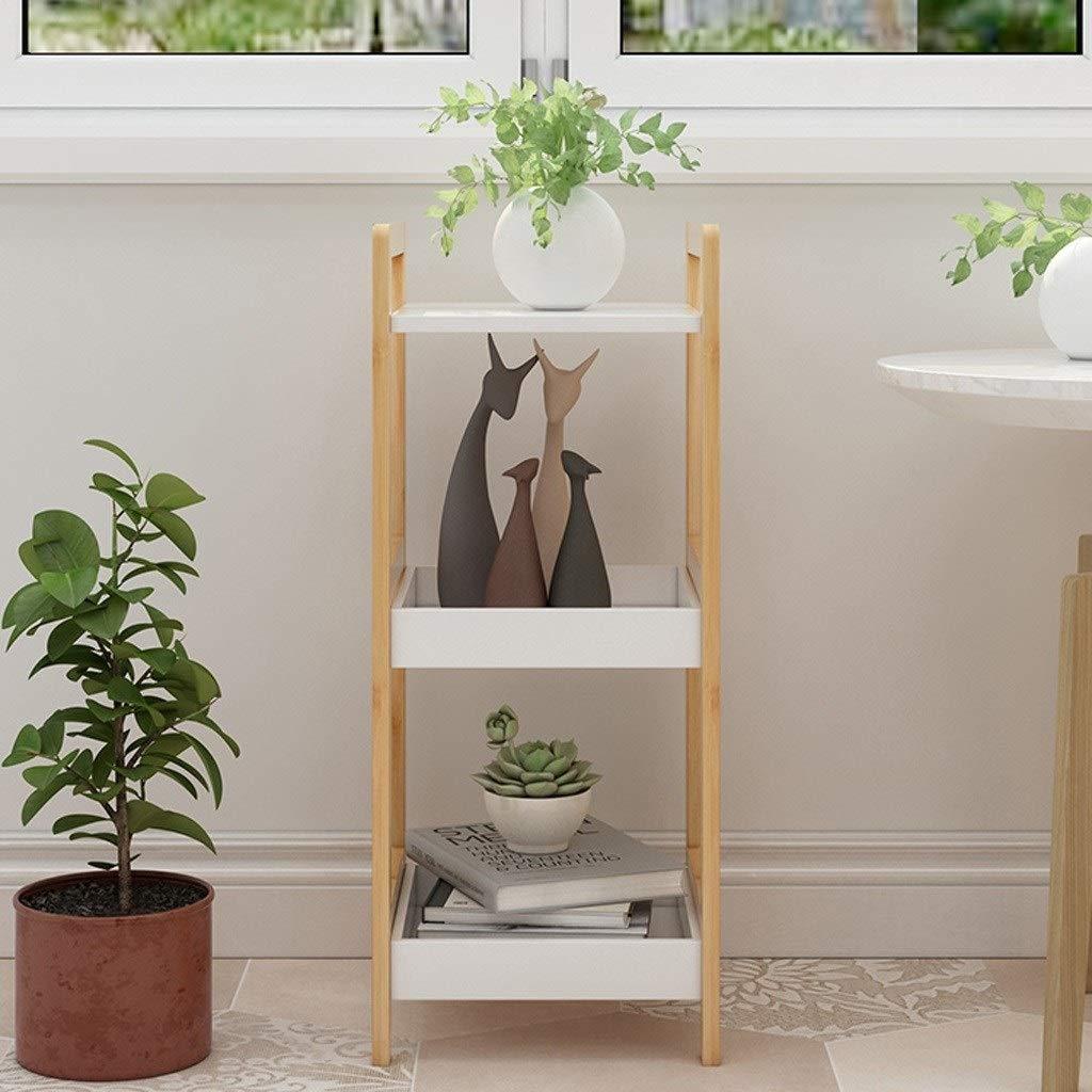 Pet harem AA- Mehrstöckige Bodenständer Wohnzimmer Schlafzimmer Home Flower Shelf Bookshelf Plant Stand 0430 (größe : 30 * 29 * 72cm)