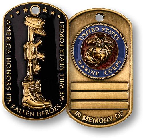 Fallen Heroes Dog Tag Marines