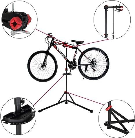 vetrineinrete® Stand para reparación y mantenimiento bicicleta ...