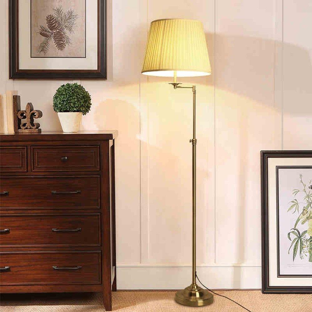Im europäischen Stil Stehlampe Serie Amerikanische Stehlampe, einfache Retro Wohnzimmer Esszimmer Schlafzimmer Bett Stehleuchte - Retro-Stehlampe