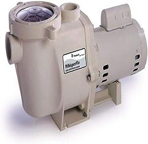 Pentair 011578 WhisperFlo High Performance Standard Efficiency Single Speed Full Rated Pump, 1/2 Horsepower, 115/230 Volt, 1 Phase