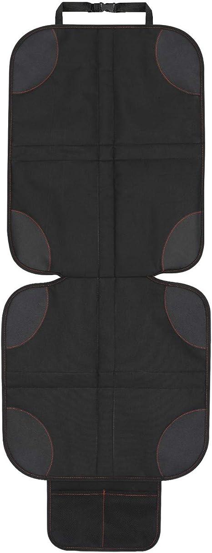 Nero, 1 Pezzi Adatto per Isofix-Antiscivolo Addensare limbottitura Bambini//Neonati//Dog Mat Protezione Universale Coprisedili per Auto per Seggiolini Auto Sedile Protezione