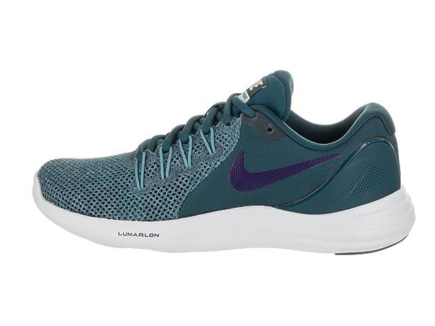 super popular 07e39 d0165 Amazon.com | Nike Mens Lunar Apparent Fabric Low Top Lace Up Running  Sneaker | Road Running