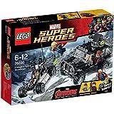 LEGO Super Heroes - Marvel - 76030 - Jeu De Construction - Hydra contre les Avengers